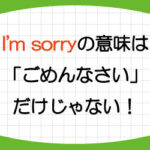 I'm-sorry-意味-例文-I'm-sorry-to-hear-that-日本語-画像3