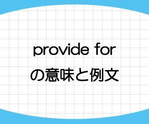 provide-for-意味-例文-画像