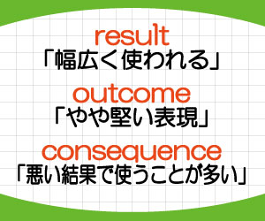 outcome-result-consequence-違い-意味-使い方-例文-画像2
