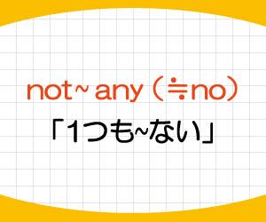 not-any-no-言い換え-名詞-複数形-単数形-画像1