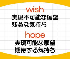 wish-hope-違い-使い分け-意味-使い方-例文-画像2