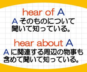 hear-of-hear-about-違い-意味-使い方-例文-画像2